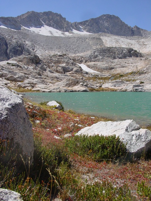 Sierran Glacial Lake