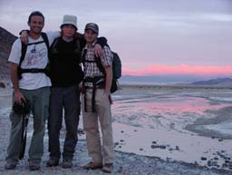 Martin's Students in Death Valley